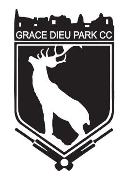 Grace Dieu Park CC badge