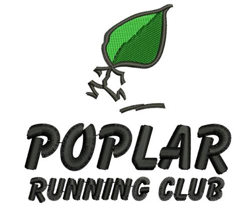 Poplar Running Club badge